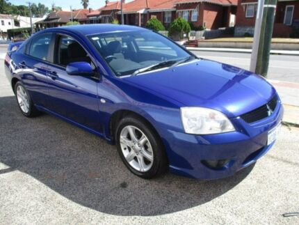 2007 Mitsubishi 380 Blue Sports Automatic Sedan