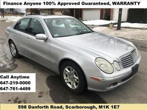 2005 Mercedes-Benz E-Class E 320 4MATIC FINANCE 100% GUARANTEED