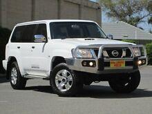 2013 Nissan Patrol Y61 GU 8 ST White 4 Speed Automatic Wagon Blair Athol Port Adelaide Area Preview