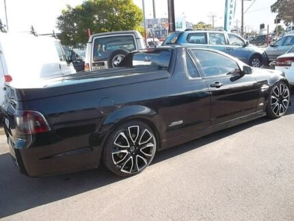 2009 Holden Commodore VE MY09.5 SS-V Black 6 Speed Manual Utility Woodville Park Charles Sturt Area Preview