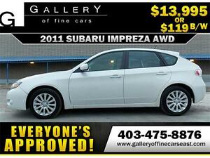 2011 Subaru Impreza 2.5 i AWD $119 bi-weekly APPLY NOW DRIVE NOW
