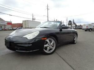 2002 Porsche 911 Carrera4 CONVERTIBLE BLACK ON BLACK