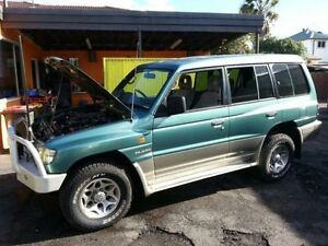 1998 Mitsubishi Pajero NL GLS LWB (4x4) Green 4 Speed Automatic 4x4 Wagon Islington Newcastle Area Preview
