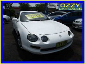 1994 Toyota Celica SX White 5 Speed Manual Liftback Minto Campbelltown Area Preview