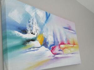 *Beau tableau peinture à l'huile***