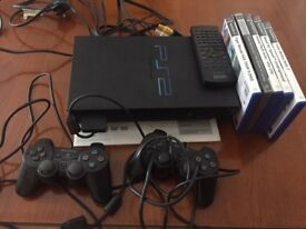 PS2 Console with Games