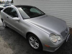 2002 Mercedes-Benz C230 Coupe ONLY 127620 KM