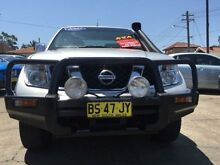 2007 Nissan Navara D40 ST-X (4x4) Silver 5 Speed Automatic Dual Cab Pick-up Croydon Burwood Area Preview
