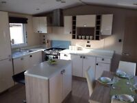 2017 caravan for sale with 2016/17 fees already included - open 12 months 5* brand new facilities