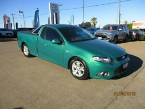 2012 Ford Falcon FG MkII XR6 Ute Super Cab Limited Edition Green 6 Speed Manual Utility South Kalgoorlie Kalgoorlie Area Preview