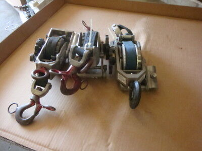 Little Mule Series 344 Strap Hoist Puller - 1 Ton 2 Ton Capacity