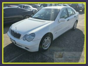 2001 Mercedes-Benz C-Class S202 C240 Classic White 5 Speed Sports Automatic Wagon