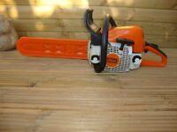stihl ms 210 petrol chainsaw