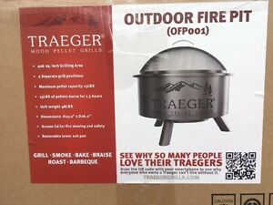 Traeger Fire Pit - Smoker / Cooking Pit - Brand New / Never Used