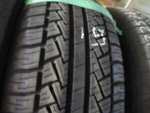 225/60R17 SINGLE ONLY NEW SPARE PIRELLI A/S TIRE