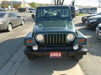 2002 Jeep TJ Sport*** NO RUST!! V6!! ACCIDENT FREE!
