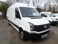 Volkswagen Crafter CR35 LWB 136ps 3.5T High Roof EURO 6 DIESEL MANUAL (2016)