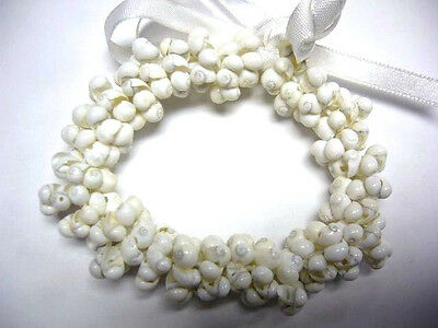 Hawaii Wedding Graduation Mongo Shell Luau Hula Jewelry Bracelet ( QTY 2 ) 24048