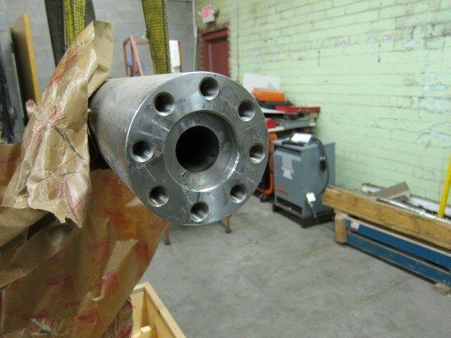 Nissei 50 Mm 50e Screw, Barrel, Valve And End Cap Assembly #5543