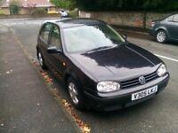Volkswagen Golf mot to march petrol 1,6 £500 phone 07922202014