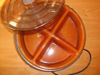 CIRCULAR ELECTRC TABLE HOSTESS.