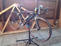 Mans CUBE AERIUM HPA frame Road/Time Trial bike. Carbon forks excellent condition