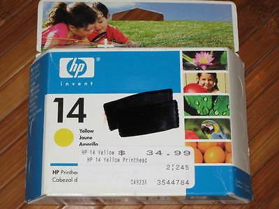 Brand New single HP-14 Yellow Printhead C4923A Date JUN 2007