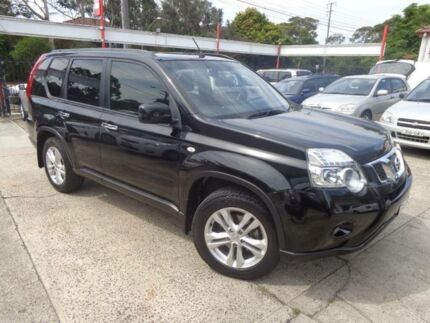 2012 Nissan X-Trail T31 MY11 TS (4x4) Black 6 Speed Manual Wagon Sylvania Sutherland Area Preview