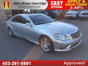 2007 MERCEDES S550 4MATIC AWD NAVIGATION BACKUP CAMERA