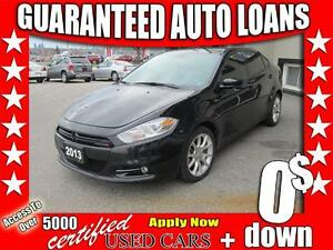 2013 Dodge Dart SXT $0 Down - All Credit Accepted!