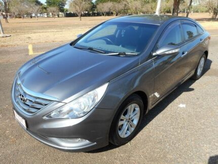 2011 Hyundai i45 YF MY11 Elite Dark Grey 6 Speed Sports Automatic Sedan