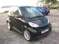 2008 (58) Smart ForTwo Passion Auto, 999cc Petrol, Semi-Automatic
