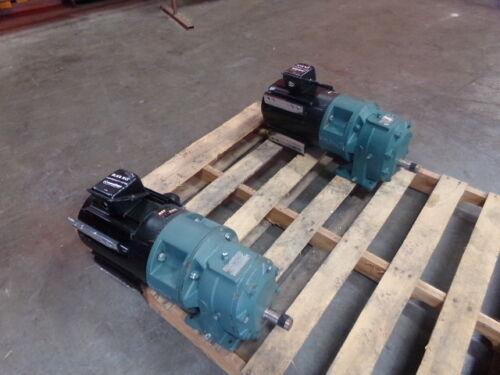 Marathon Electric 3 HP Motor KVH 182THTL7726BD R143I w Gear Reducer