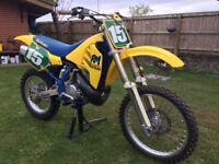1989 suzuki rm 250 original condition bristol