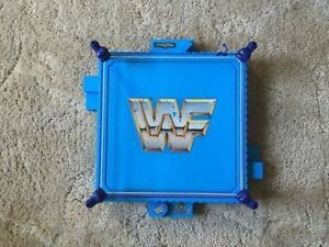 WWF WWE vintage wrestling ring toy plastic (1989)