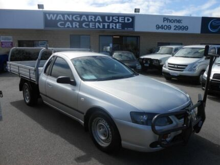 2007 Ford Falcon BF MkII XL (LPG) Silver 4 Speed Auto Seq Sportshift Cab Chassis Wangara Wanneroo Area Preview