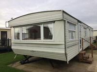 Delta Static caravan on the east coast near Hornsea and Bridlington