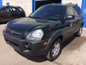 2007 HYUNDAI TUCSON V6, Roof Rack, LOW KMS ONLY 118k BLACK/BLAC