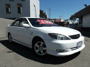 2003 Toyota Camry ACV36R Sportivo White 4 Speed Automatic Sedan Victoria Park Victoria Park Area Preview