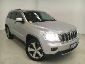 2012 Jeep Grand Cherokee WK MY2012 Limited Silver 5 Speed Sports Automatic Wagon Edgewater Joondalup Area Preview