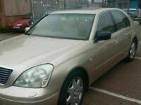 LEXUS LS 430 AUTOMATIC LEATHER ALLOYS SAT NAV 12 MONTHS MOT SERVICE HISTORY