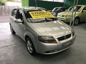 2008 Holden Barina TK MY08 Silver 4 Speed Automatic Hatchback Five Dock Canada Bay Area Preview