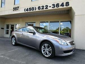2009 Infiniti G37 Coupé AWD, NAVIGATION, CAMERA DE RECUL