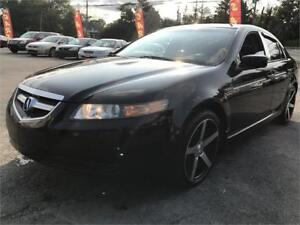 2005 Acura TL NEW MVI, LEATHER, SUNROOF, 2 SETS OF WHEELS, LOW K