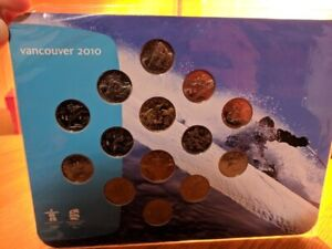 Proof Set Canada Mint Coins (Money) Vancouver 2010