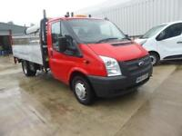FORD TRANSIT 350 13FT6 ALLOY DROPSIDE & TAIL-LIFT