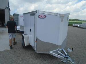 LIGHT WEIGHT CARGO TRAILER - 2017 NEO 5X8' - VERY EASY TO TOW London Ontario image 7