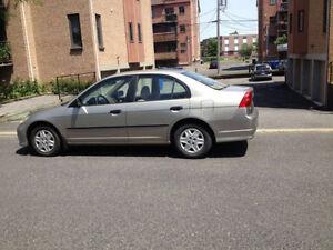 2005 Honda Civic Sedan bone condition.....