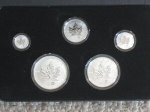 2004 Canadian Silver Maple Leaf Privy Mark Coin Set