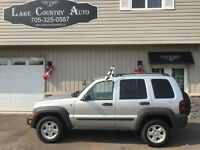 2006 Jeep Liberty-Cert/Etested, 4x4, Keyless entry, Alloys